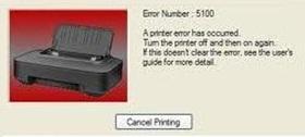 Error 5100