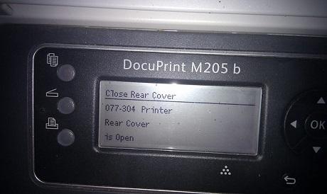 Xerox Error